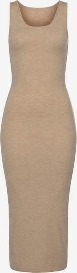 LASCANA Robes en maille en beige, Vue avec produit