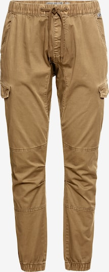 Pantaloni cu buzunare 'Levy' INDICODE JEANS pe bej, Vizualizare produs