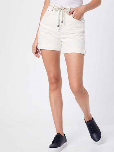 DRYKORN Jeanshorts 'LAP' in weiß, Modelansicht