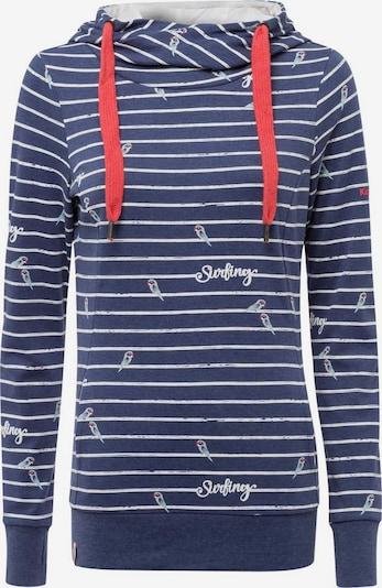 KangaROOS Sweatshirt in blau / rot / weiß, Produktansicht