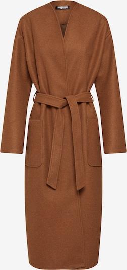 Fashion Union Manteau mi-saison 'EDGY' en camel, Vue avec produit