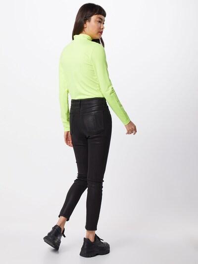 rag & bone Kavbojke 'Nina' | črna barva: Pogled od zadnje strani