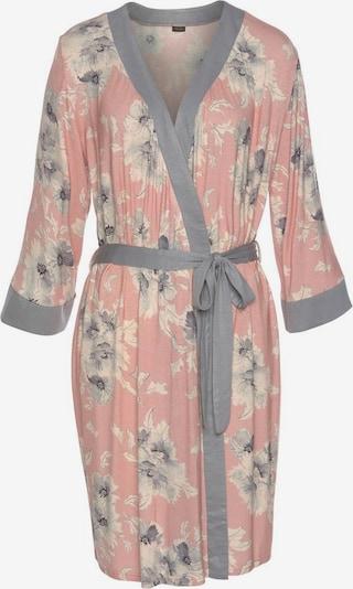 LASCANA Kimono in grau / puder / weiß, Produktansicht