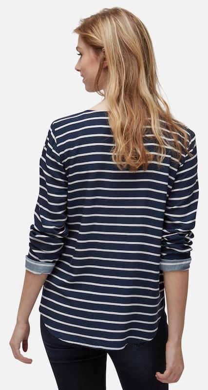 TOM TAILOR DENIM Shirt gemustertes Langarmshirt
