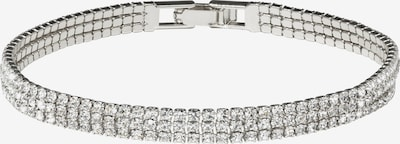 Zaza&lili Armband 'B-Eerie triple' in de kleur Zilver, Productweergave