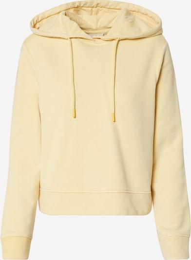 ONLY Sweat-shirt en jaune, Vue avec produit