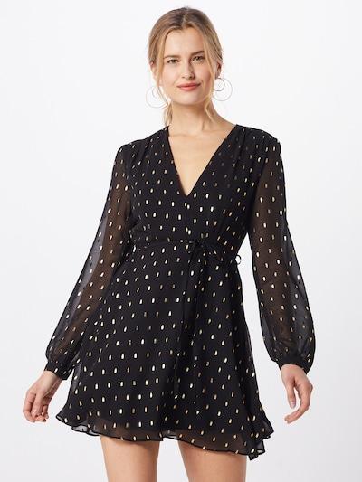 GLAMOROUS Kleid in gold / schwarz, Modelansicht
