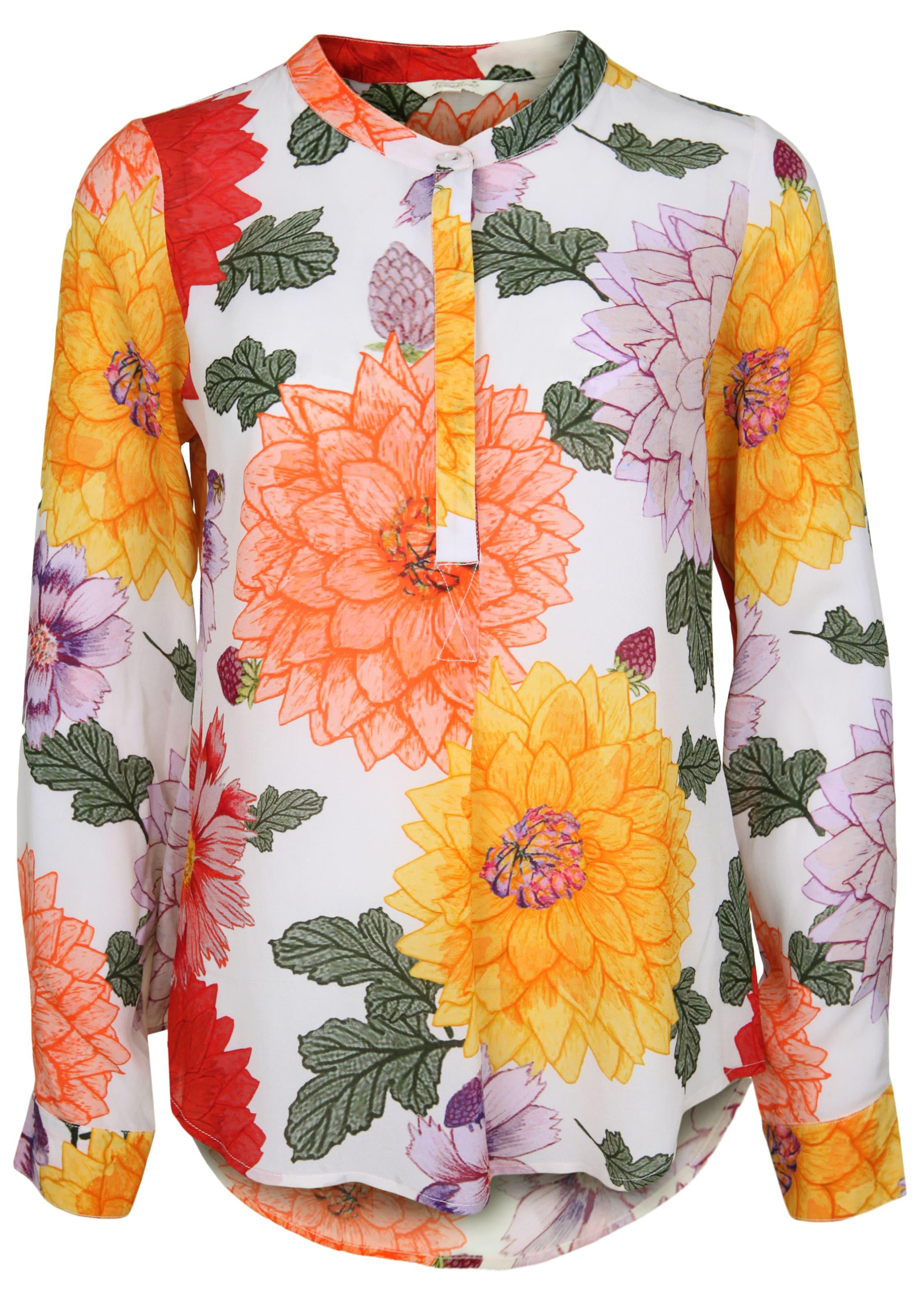 Frogbox Flowers' Mischfarben Bluse In 'botanic BoxdCeQErW