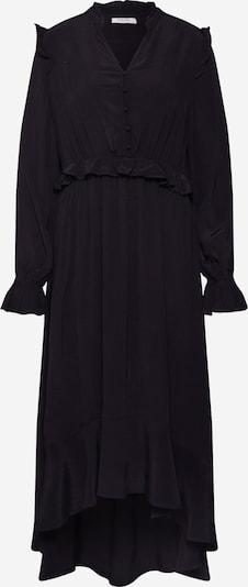 PIECES Sukienka 'PCLISA LS MIDI DRESS D2D' w kolorze czarnym: Widok z przodu