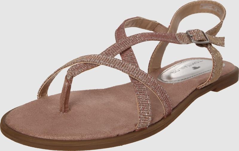TOM TAILOR Sandale 'Glitter'