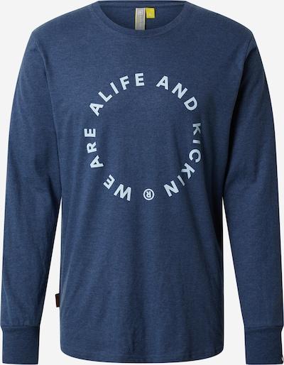 Alife and Kickin Shirt in taubenblau / weiß, Produktansicht
