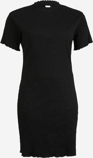 Urban Classics Curvy Obleka | črna barva, Prikaz izdelka