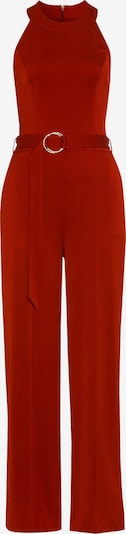 IVY & OAK Jumpsuit 'Belt' in orangerot, Produktansicht