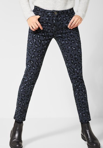 CECIL Jeans in de kleur Grijs / Antraciet, Modelweergave