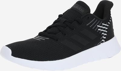 ADIDAS PERFORMANCE Chaussure de course 'ASWEERUN' en gris foncé / noir / blanc, Vue avec produit