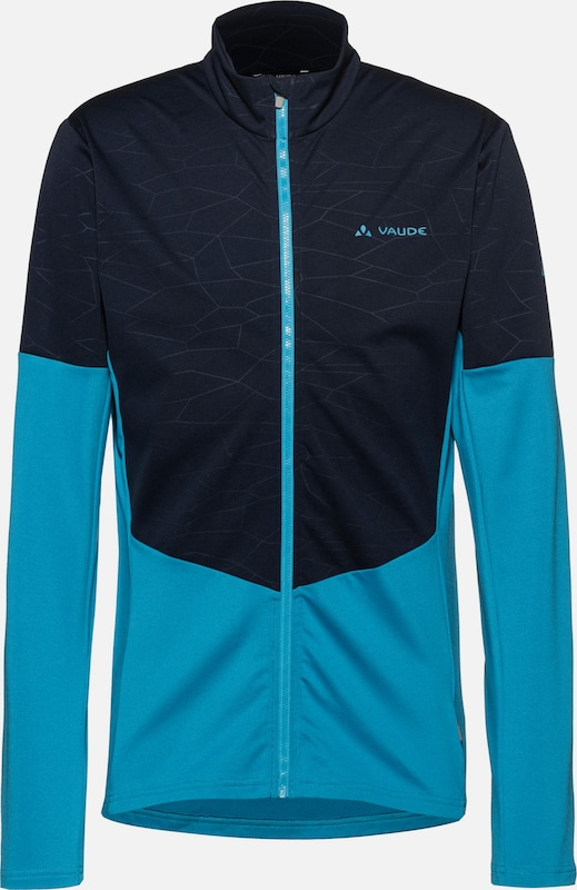 VAUDE Shirt 'All Year Moab' in royalblau / ultramarinblau: Frontalansicht