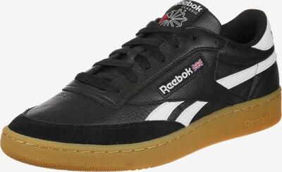 Reebok Classic Sneaker 'Revenge Plus Gum' in cognac / schwarz / weiß: Frontalansicht