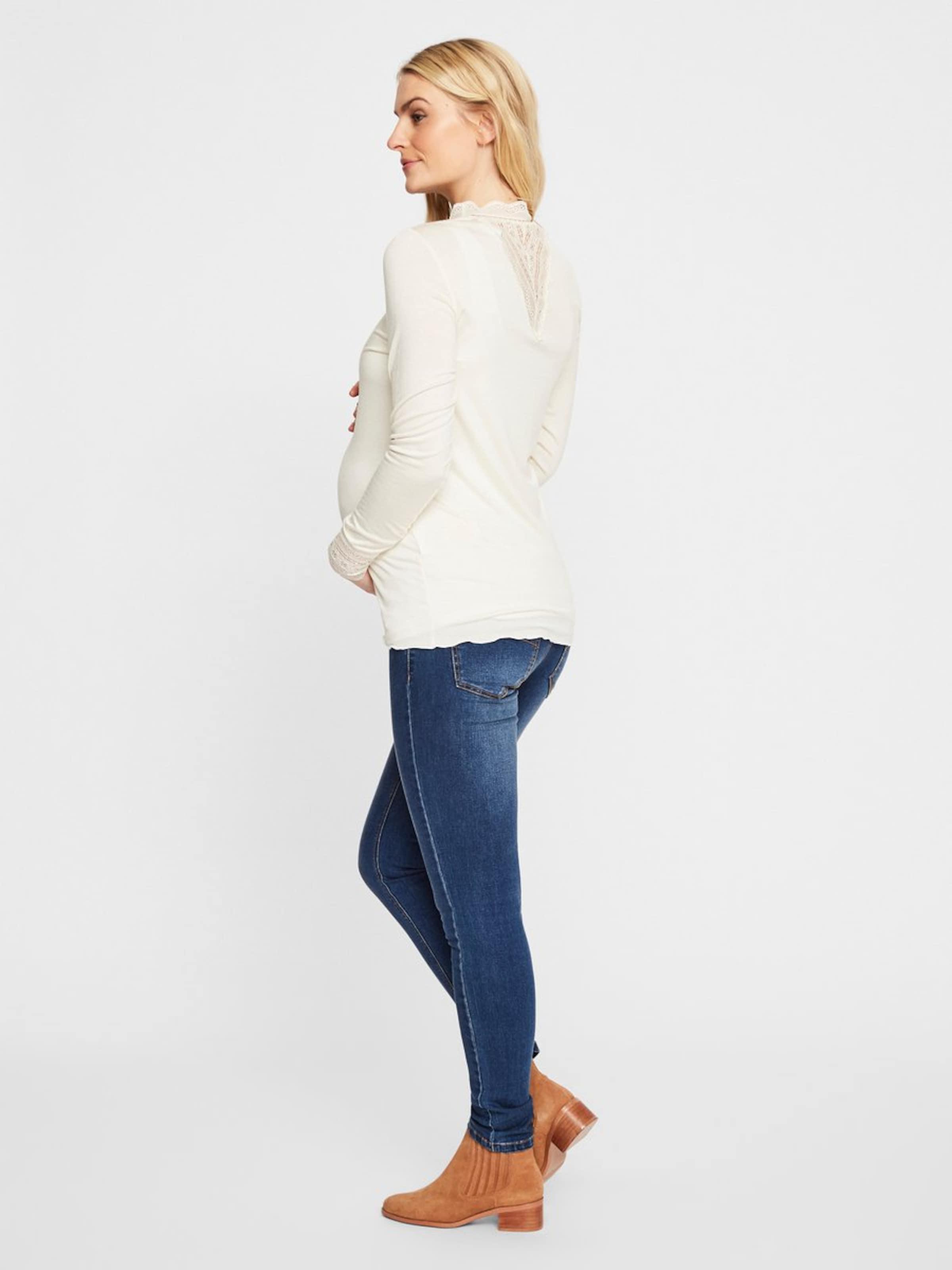 Blanc T Mamalicious shirt En Mamalicious shirt T q534jARL