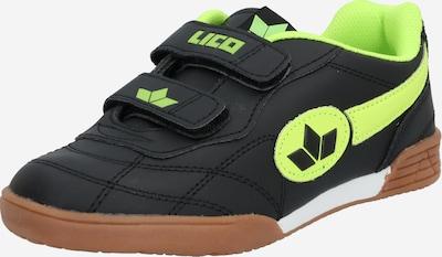 LICO Klettschuh in neongelb / schwarz, Produktansicht