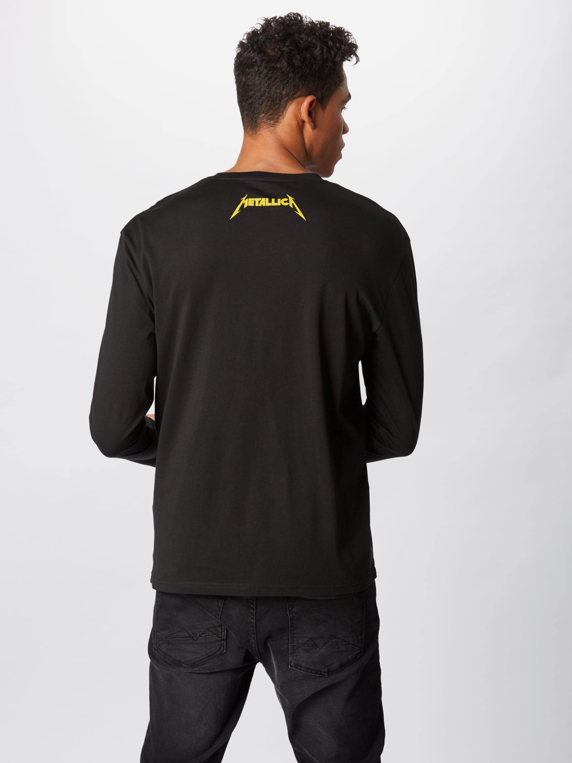 Jones In 'ormetallica' Jackamp; Shirt GelbGrau Schwarz ZiPuOwkXT