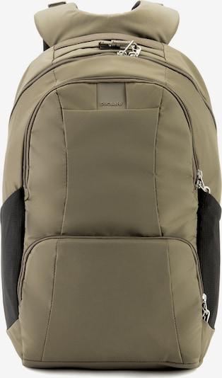 Pacsafe Rucksack 'Metrosafe LS450' in khaki / schwarz, Produktansicht
