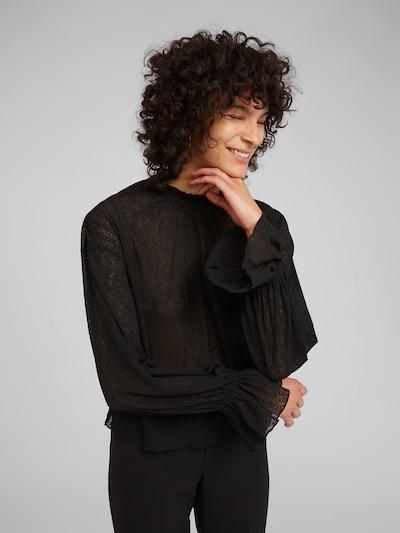 EDITED Bluza 'Fabienne' | črna barva, Prikaz modela