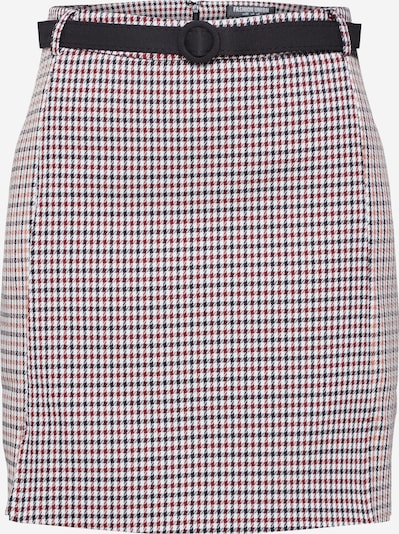 Fashion Union Rock 'PEECIE SKIRT' in beige / rot, Produktansicht