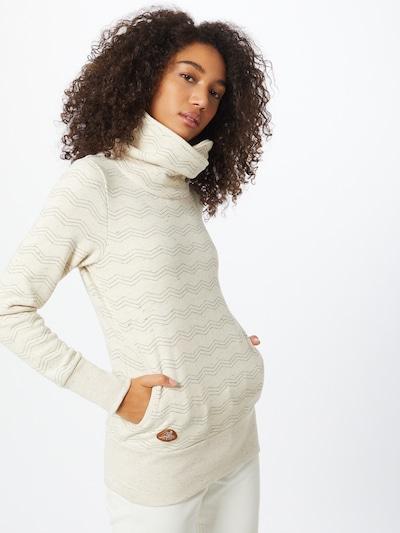 Ragwear Sweatshirt in beige / schwarz: Frontalansicht