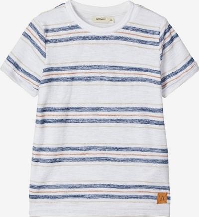 NAME IT T-Shirt 'Gobo' in blau / braun / weiß, Produktansicht