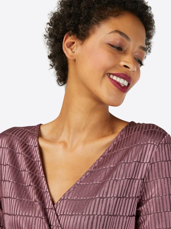 FRENCH CONNECTION Kleid 'Linear' in aubergine    Markenkleidung für Männer und Frauen 830519