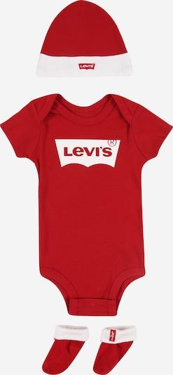 LEVI'S Onesie 'Batwing' in rot / weiß: Frontalansicht