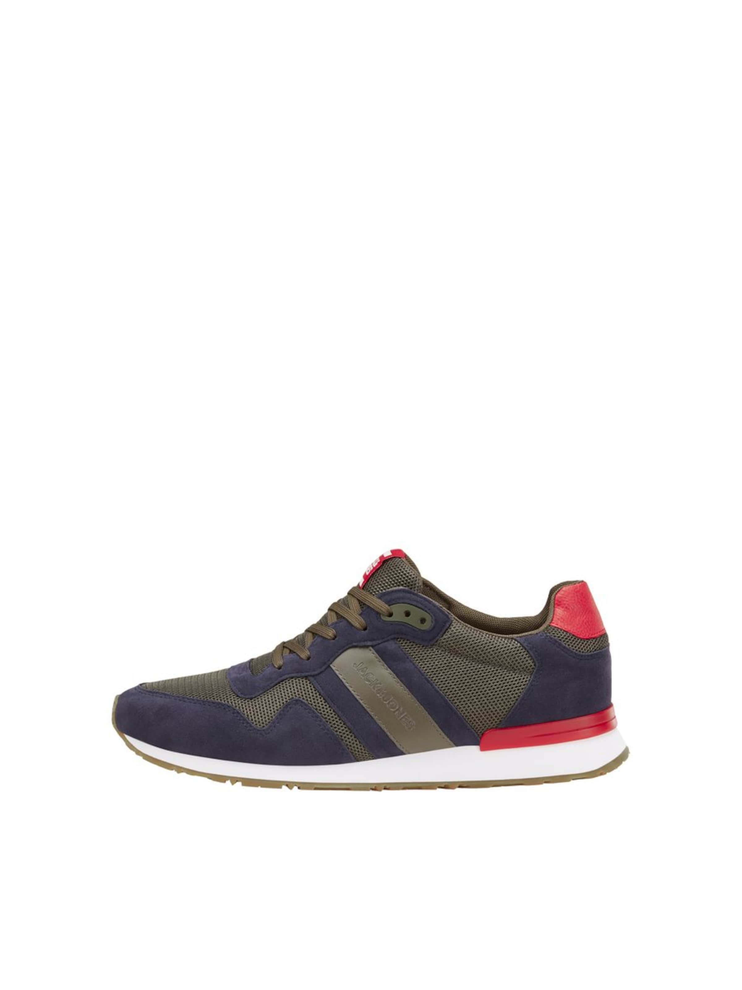 Jones Jackamp; NavyOliv Rot Sneaker In ulF1KJ3Tc