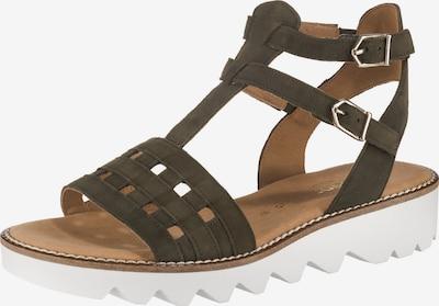 GABOR Sandalen in khaki, Produktansicht