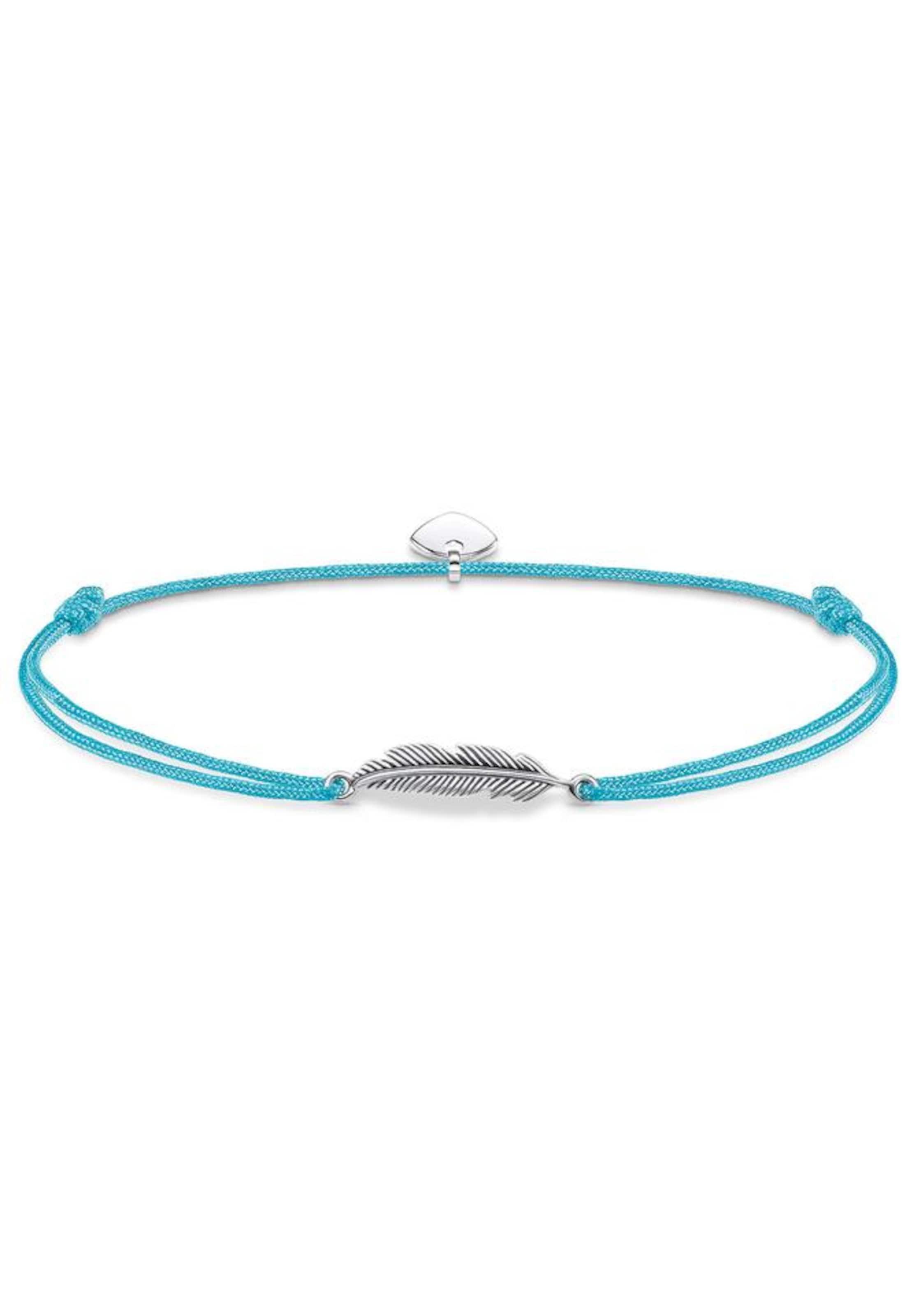 Billige Angebote Mode Online Thomas Sabo Armband 'Feder Little Secret' GVASJ4oj