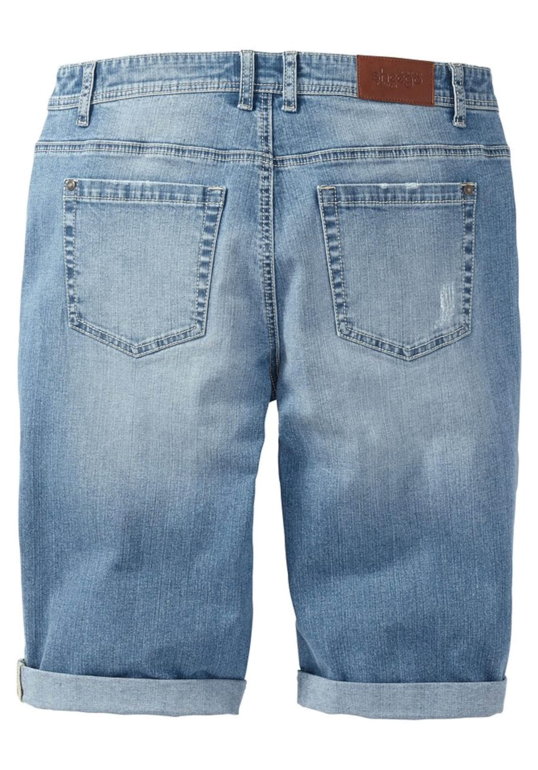 Denim Blue Sheego In Jeansbermudas Jeansbermudas Sheego lcJ1FK