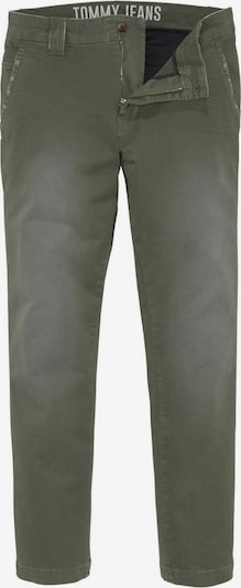 Tommy Jeans Chinohose in oliv, Produktansicht