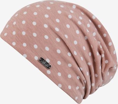 chillouts Mütze 'Lucerne Hat' in rosa / weiß, Produktansicht