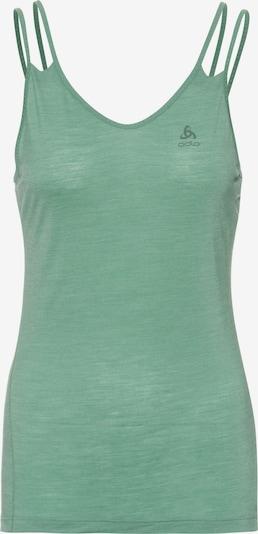 ODLO Funktionstop 'Natural + Light SUW Top V-Neck Singlet' in pastellgrün, Produktansicht