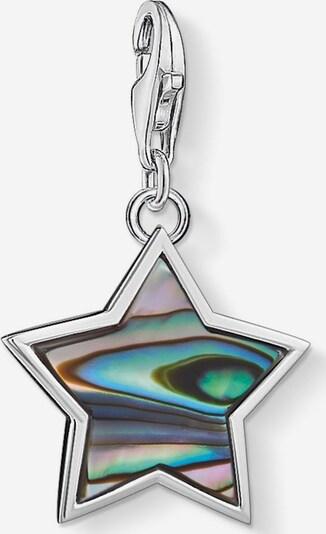 Thomas Sabo Charm-Einhänger 'Stern' in mischfarben / silber, Produktansicht