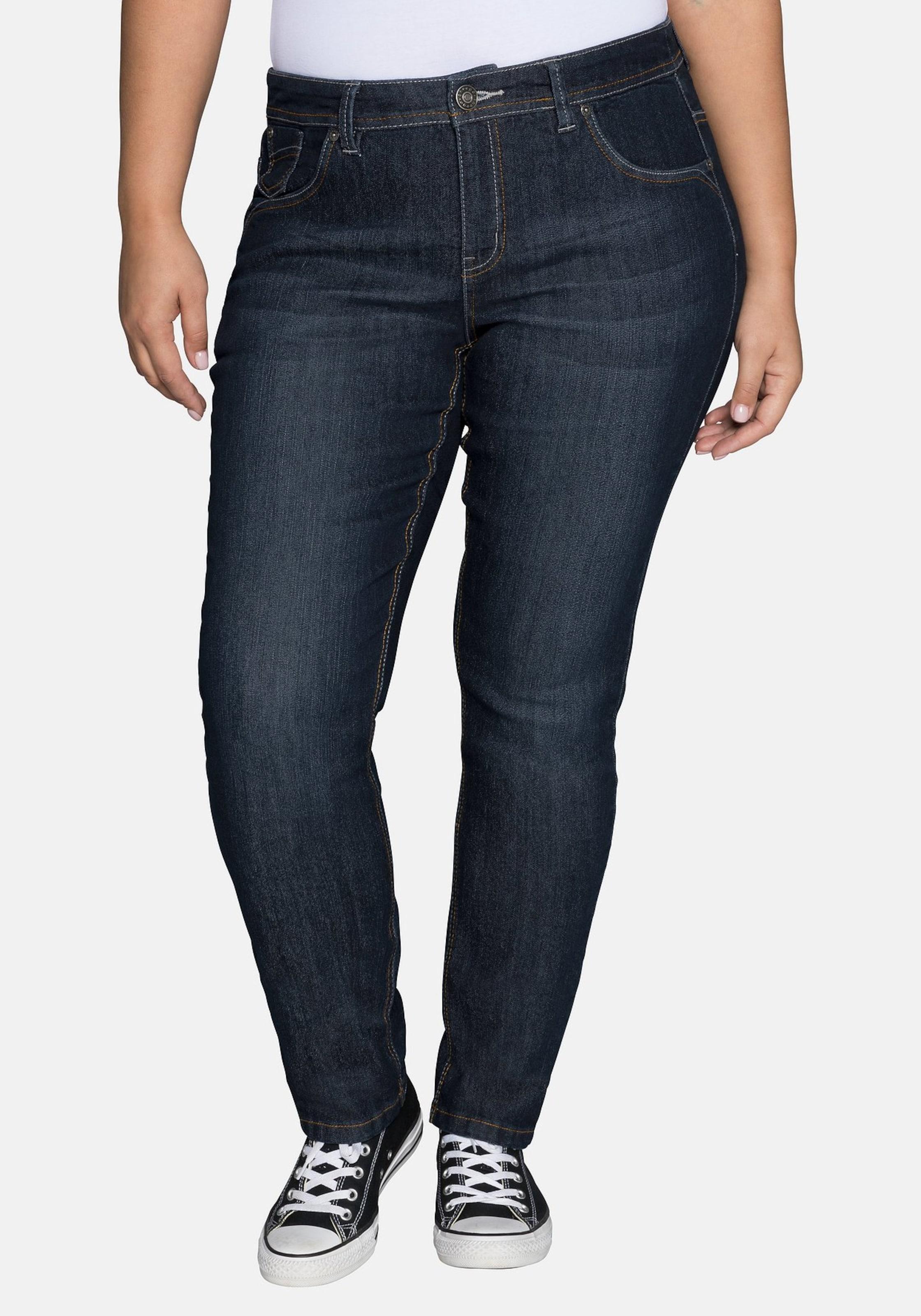 Sheego Sheego Jeans Jeans Sheego Dunkelblau In In Jeans Dunkelblau H9IWED2