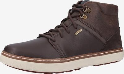GEOX Sneakers hoog in de kleur Bruin: Vooraanzicht