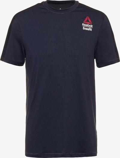 REEBOK Funktionsshirt in kobaltblau / rot / weiß, Produktansicht