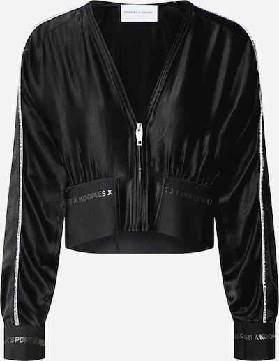THE KOOPLES SPORT Bluza rozpinana 'VESTE' w kolorze czarnym, Podgląd produktu