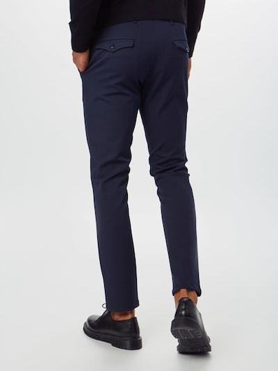 SELECTED HOMME Spodnie w kolorze granatowym: Widok od tyłu