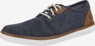 RIEKER Sneaker in blau / braun, Produktansicht