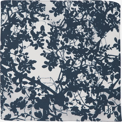 Jacques Britt Einstecktuch in dunkelblau / weiß, Produktansicht