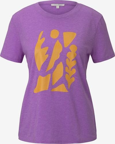 TOM TAILOR DENIM Тениска в лилав / оранжево, Преглед на продукта