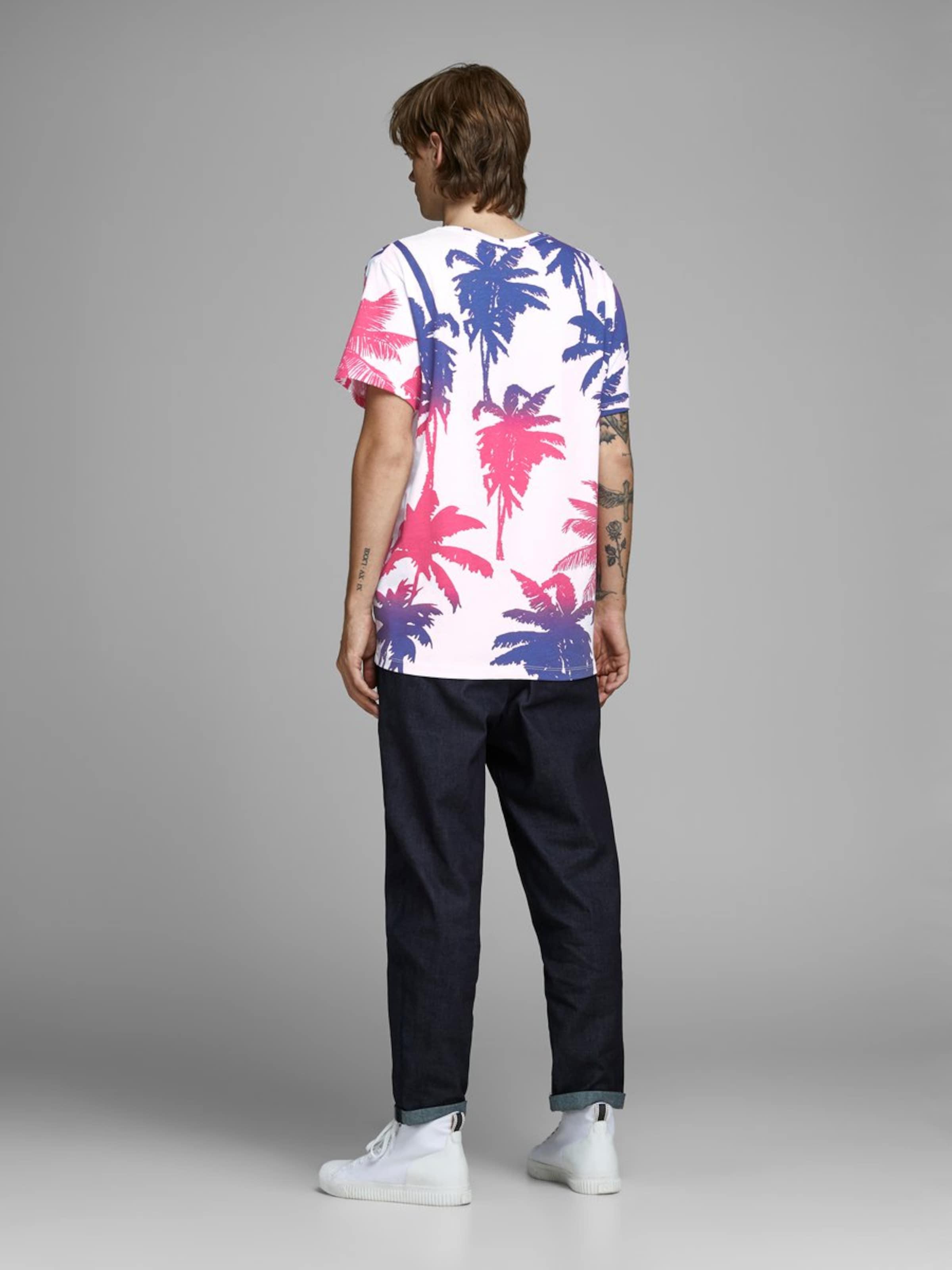 shirt Néon Blanc Jackamp; T Jones En IndigoRose Nnm80w