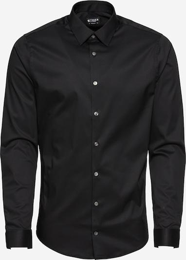 Tiger of Sweden Overhemd 'Filbrodie' in de kleur Zwart, Productweergave