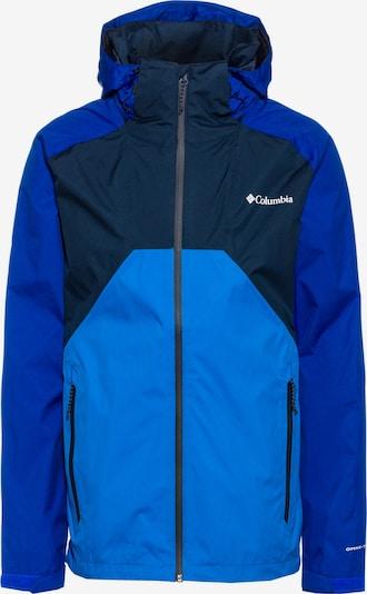 COLUMBIA Jacke 'Scape' in blau / nachtblau / himmelblau, Produktansicht